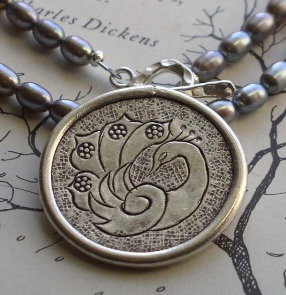 Sale Peacock Peacock Necklace