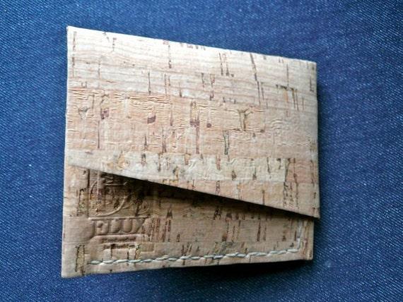 cork enclosed billfold