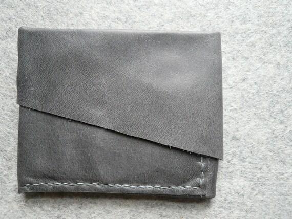 slate origami billfold