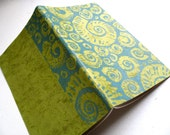 LINED MOLESKINE JOURNAL - Block Print Cover -Stationery Notepad