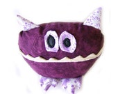 Cereal Monster - Purple Plushie Creature from my Pantry