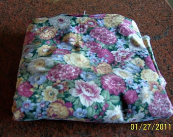 Two yards floral fabric 44 inches wide