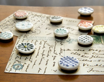 Set of 4 Handmade Magnets FREE US SHIPPING