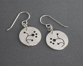 SMaddock Tree Series Silver Earrings FREE SHIPPING