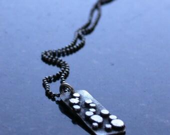 SMaddock Sterling Silver Distressed Granulation Pendant