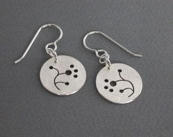 SMaddock Tree Series Silver Earrings