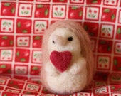 Be Mine - Valentine - Hedgehog - Eco Friendly - Organic - Ornament - Toy