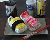 Amigurumi Tamago Sushi Egg Cell Phone Case