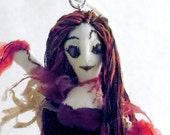 Soft Sculpture Ghost Doll Lavinia cloth ghost figure