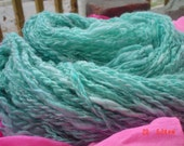 Aquamarine Waters handspun wool yarn