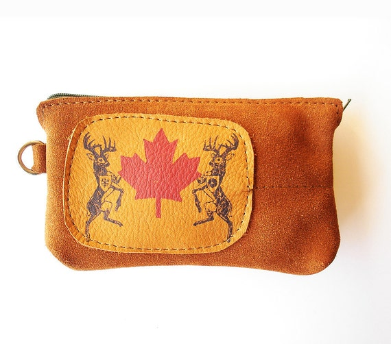 Daily Special SALE Canadian Wonderment Purse by BonspielCreation