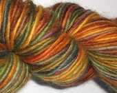hand-dyed worsted wool and mohair yarn -- mercado
