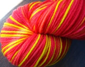 Bright Spring - Hand-Dyed Sock Yarn, 440 yds