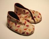 Chirp kimono wrapped shoes
