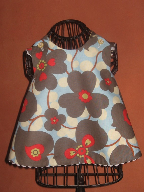 Reversible Lotus pinafore