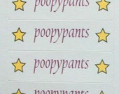40 stickers. You're a star, poopypants.
