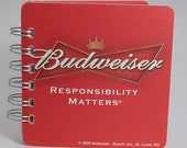 Beer Coaster Journal - Budweiser