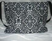 Punk Skull Bandana boutique diaper bag or tote purse