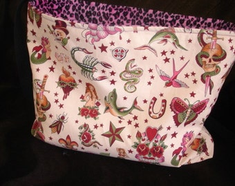 Tattoo punk Diaper bag purse Choose tattoo color