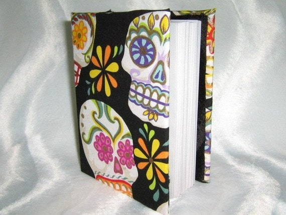 punk rock sugar skulls brag book photo album choose any fabric