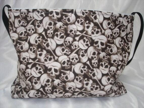 Skulls and crossbones boutique Diaper bag