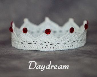 PATTERN - Crochet Crown - Daydream