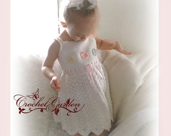 NEW Seaside Fairy Baby Sundress Sizes 0 to 6 mos, 6 to12 mos, 12 to18 mos