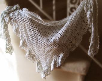 Garden Trellis Shawl Crochet Pattern