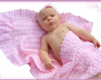 Morning Dew Baby Crochet Afghan Pattern