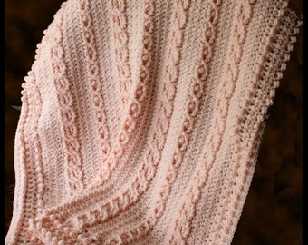Pebble Creek Afghan Crochet Pattern