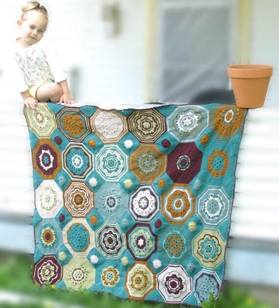 Moorish Mosaic Afghan Crochet Pattern
