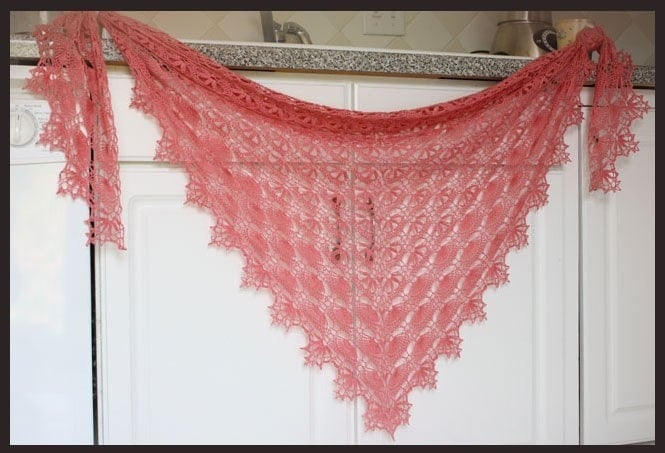 Crochet Lace Weight Shawl Pattern : Maia Shawl Crochet Pattern Lace Weight