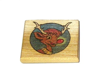 Doodle Magnet - Christmas - Rudolph