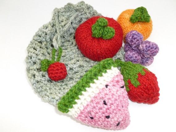 Farmers market fruit set