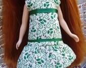 Blythe Summer Dress (Garden Green)