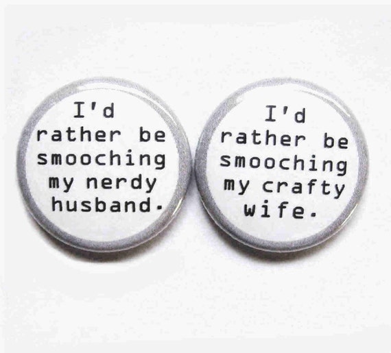 1 Inch Magnet Set - Magnetic Attraction - Great for Brides and Grooms!