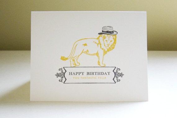 Dapper Lion Card