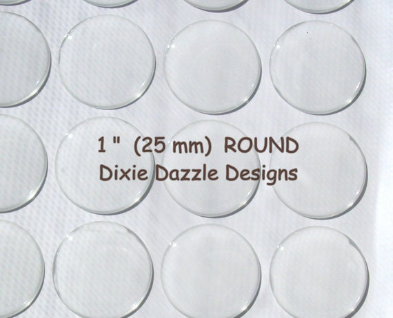 20 1 inch, 25mm round circle Epoxy Resin Stickers-Domes-Dots-Drops..Fast and Easy..Peel and Stick..No Mess birthday craft