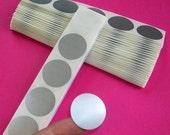 Scratch-Offs - 50 silver 1 inch circles
