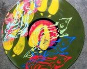 Hand Painted Vinyl Is 2 Dimensions Politically Correct Anymore