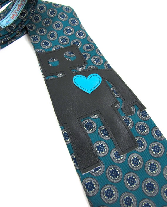 The Robot Applique Necktie