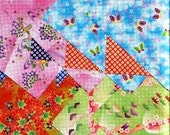SALE - Fluttering Butterflies Origami Papers - great for craft embellishment or collage