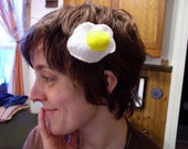 Egghead Barrette with a side of Bacon