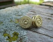 shoot your ear out Rifle shell earrings posts studs