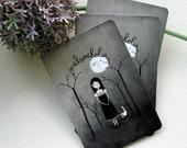 Melancholia - Postcard