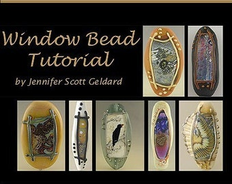 Window Series Lampwork Bead Tutorial PDF