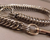 Square Link Half Persian Wallet Chain