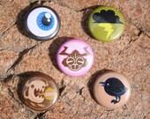 5 Pack Designer Pin Set