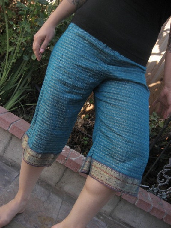 Recycled Sari Silk Bloomers
