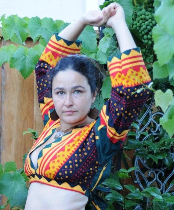 Banjara style choli top Recycled Textiles